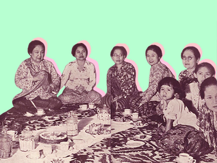 Nationalising the Kebaya in the Nusantara